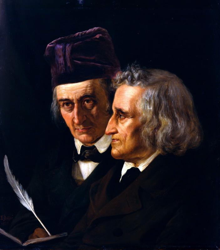 Картинки писателей братьев гримм